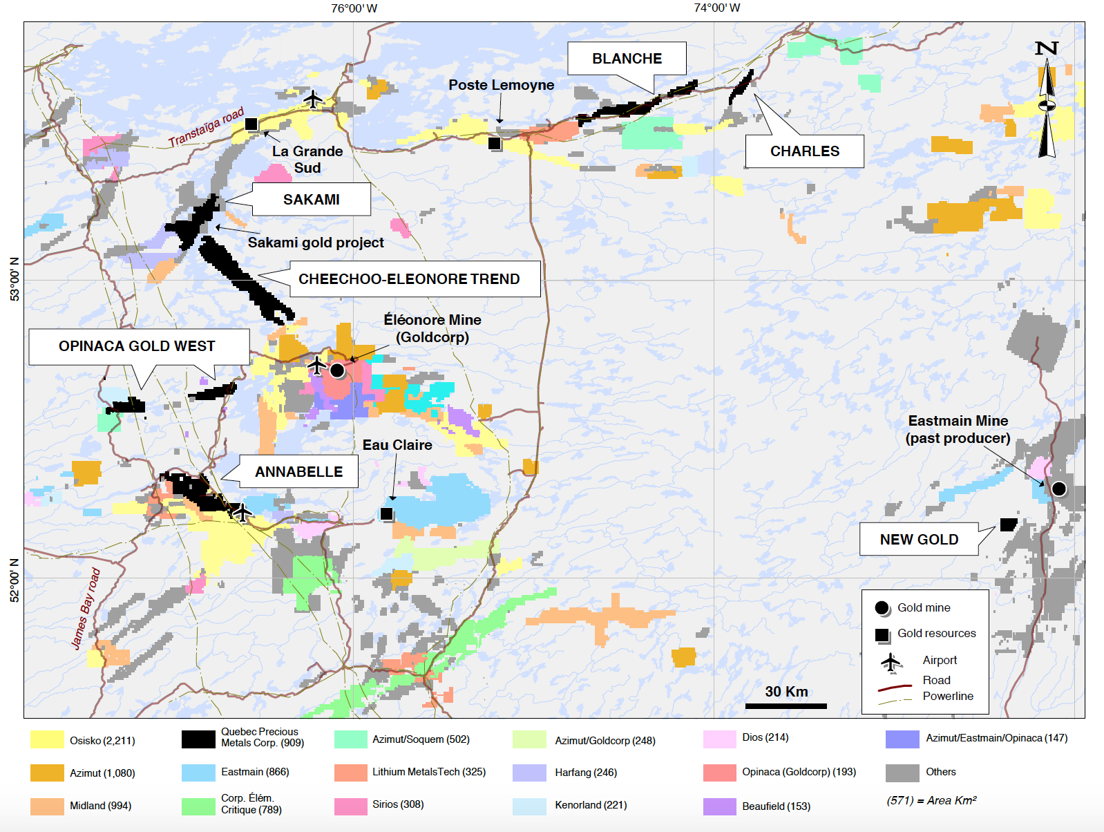 Map Of Canada James Bay.Quebec Precious Metals Corp James Bay Focused Gold Exploration